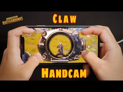 [PUBG mobile] 4 Finger Claw Handcam | Erangel Gameplay