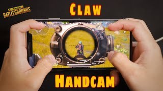 [PUBG mobile] 4 Finger Claw Handcam | Erangel Gameplay