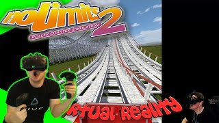 NoLimits 2 Roller Coaster Simulation in VR! [Let's Play][Gameplay][German][Vive][Virtual Reality]