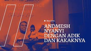 Gambar cover LIVE PERFORMANCE ANDMESH - HANYA RINDU FT ADIK DAN KAKAKNYA ECI DAN INDAH, HARU & SEDIH