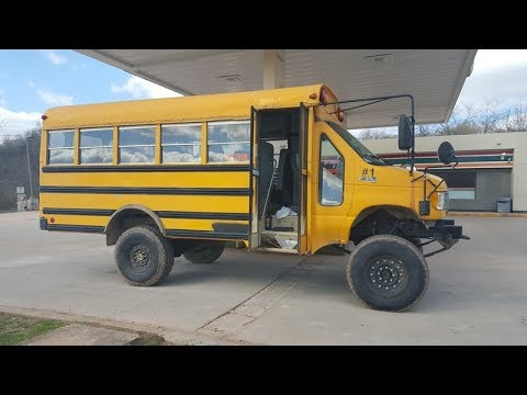 My 97 Short Bus 4x4 Converstion Youtube