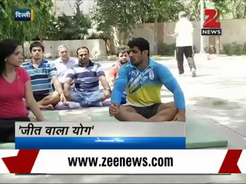 Wrestler Sushil Kumar reveals how yoga helps him win