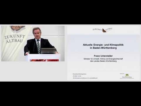 Herbstforum 2015 - Aktuelle Energie- und Klimaschutzpolitik in Baden-Württemberg