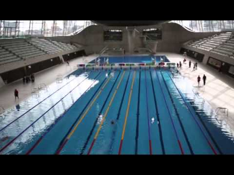 Olympic swimming pool youtube for Hagebaumarkt swimmingpool
