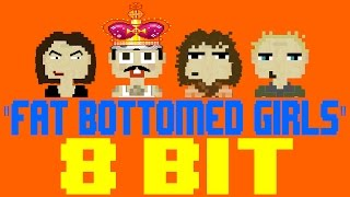 fat bottomed girls 8 bit tribute to queen 8 bit universe