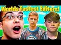 Who Is The FASTEST Editor In Fortnite Nick Eh 30 Vs Symfuhny Vs Mongraal mp3