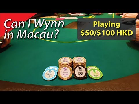 Poker Vlog 24: Can I Wynn in Macau?