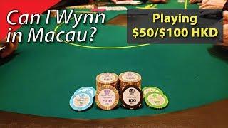 Poker Vlog 24: Can I Wynn in Macau?