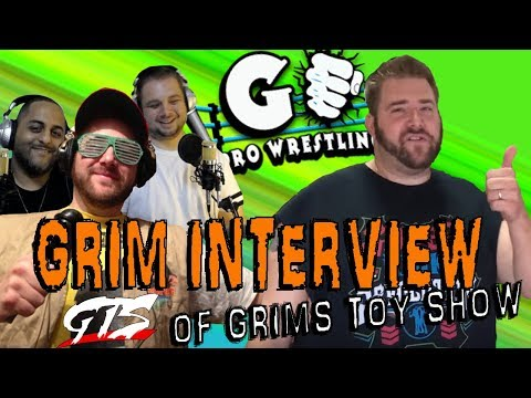 GRIM (Grims Toy Show) Interview | GO Pro Wrestling