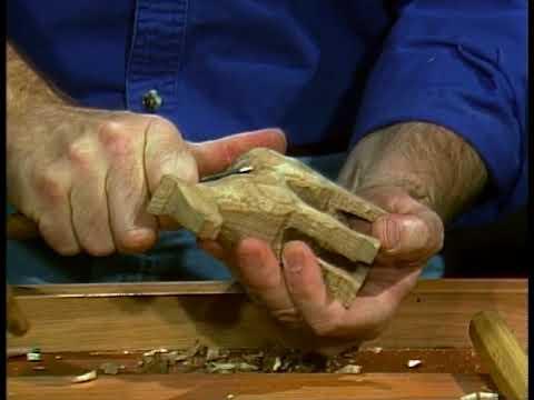Rick Butz - Horse Carving