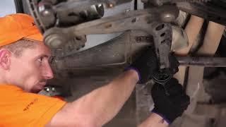 Cum se inlocuiesc brațul inferior al suspensiei de pe față pe BMW 3 E36 TUTORIAL | AUTODOC