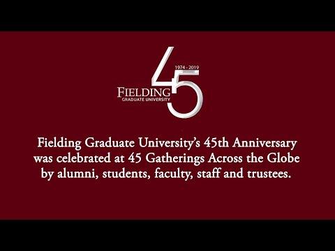 Fielding's 45th Anniversary: 45 Gatherings Across The Globe