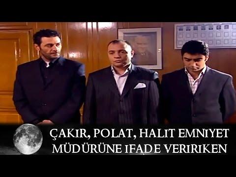 Çakır, Polat ve Halit Emniyet Müdürüne ifade verirken - Kurtlar Vadisi 39.Bölüm