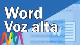 Word 2016 (365) - Recurso de Voz / Fazendo o Word falar seu texto / Ler em voz alta.