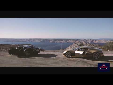 Rimac Concept_One vs Bugatti Veyron –Croatia Coast Road Duel!