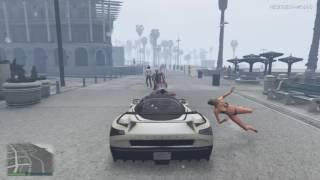 Grand Theft Auto V - Schwarzfahrer erwischt!