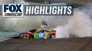 Gambar cover Final Laps: Kyle Busch wins his second NASCAR Cup Series Championship | NASCAR on FOX HIGHLIGHTS
