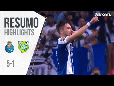 Highlights | Resumo: FC Porto 5-1 V. Setúbal (Liga 17/18 #31)