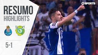 Highlights | Resumo: FC Porto 5-1 V. Setúbal (Liga 17/18 #31)