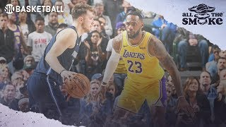 Fan Session: LeBron James, Luka Doncic, 4-pt Line, Biggest Career Mistake | ALL THE SMOKE
