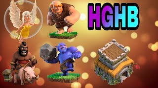 Th8 vs Th8 3 star attck with hghb ||Clash of Clans||in hindi