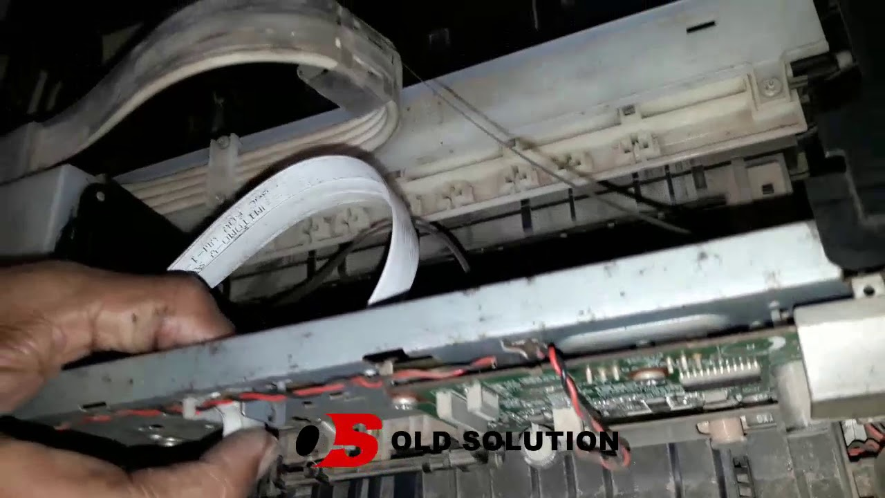 Replace Epson Printer Carriage Sensor by Old Solution