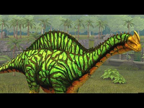 Jurassic World The Game Argentinosaurus Nivel 40