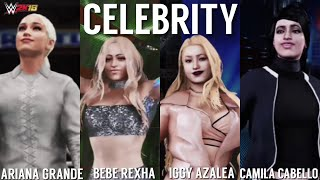 WWE 2K18 | Ariana Grande & Bebe Rexha Vs Camila Cabello & Iggy Azalea [Gameplay]