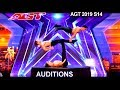 Messoudi Brothers Acrobat Group SHIRTLESS & AMAZING With Terry  | America's Got Talent 2019 Audition