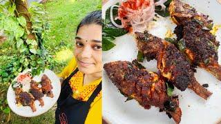 Fish Fry Recipe - மசாலா பிரியாமல் மீன் பொறிப்பது எப்படி - Meen Varuval Recipe in Tamil