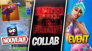 FORTNITE x STRANGER THINGS CONFIRMÉ, 2 ANS de FORTNITE & Plus sur FORTNITE ! (News Fortnite)