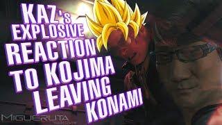 Kazuhira Miller's Reaction to Kojima Leaving While KONAMI Takes Over the Metal Gear Solid series