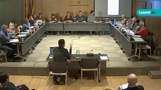 Consell de Barri d'Urbanitzacions, 21 de novembre de 2019