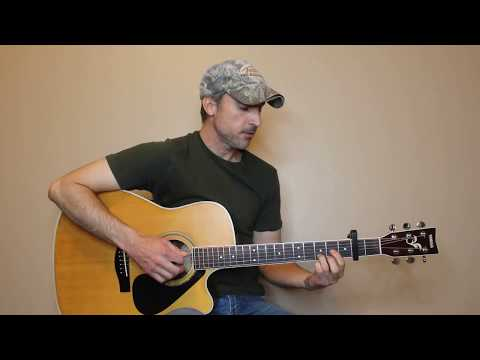 If I Know Me - George Strait - Guitar Lesson   Tutorial