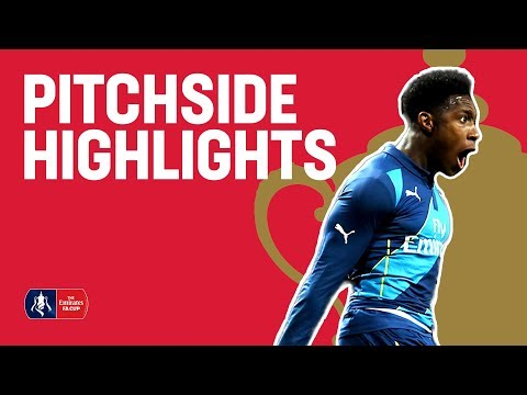 Man Utd 1-2 Arsenal (Exclusive Pitchside) 2015 FA Cup R6 | Snapshots