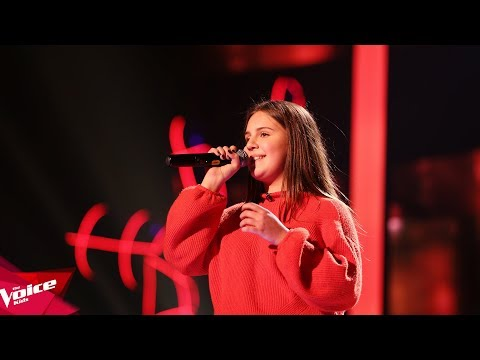 Aulona  Set fire to the rain  The Blind Auditions  The Voice Kids Albania 2018