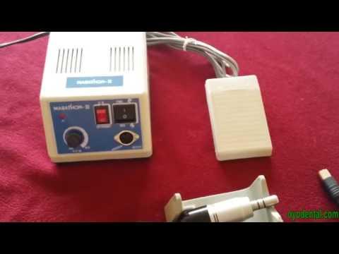 How to Use Dental Marathon  Micromotor