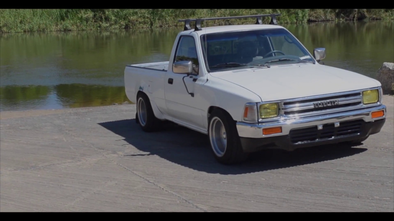 Lowered 91 Toyota Mini Truck Edit 2k17