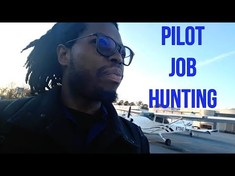 Private Pilot Job Hunting At Local Airport