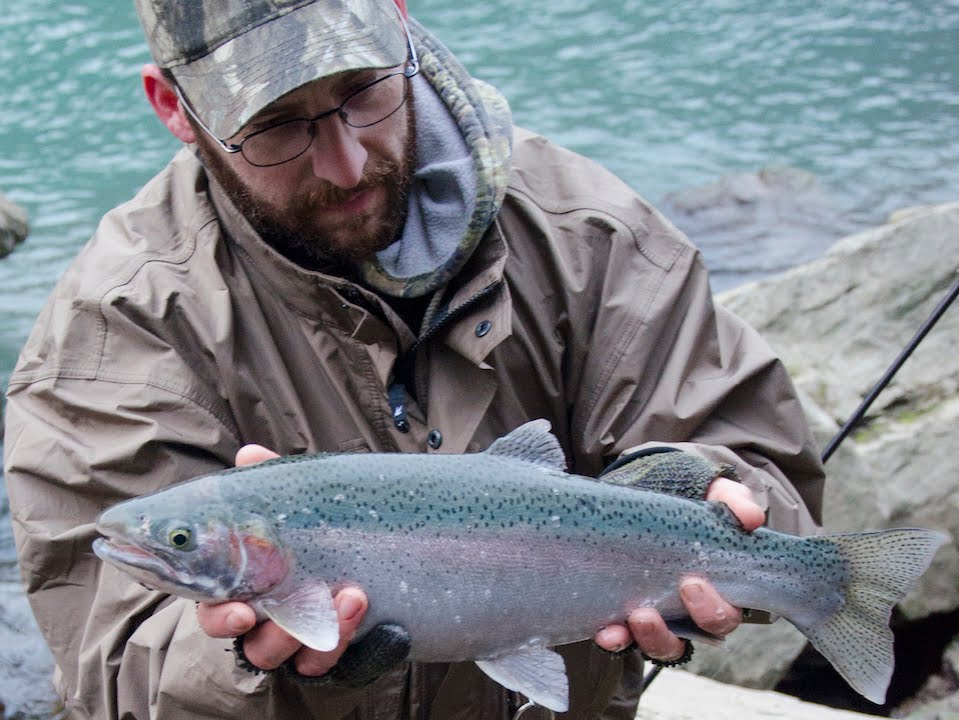 Steelhead and lake trout fishing the lower niagara river for Lower niagara river fishing report