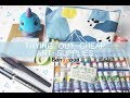 Stationery haul & painting with gouache