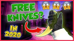 HOW TO GET A FREE KNIFE IN 2 HOURS! (2020 actually works)