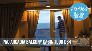 Balcony Cabin Tour on D deck. Cabin D34. Please also join our frien...