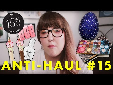 ANTI-HAUL #15  |  SEPHORA VIB IS BACK...AND YOU DON'T NEED IT
