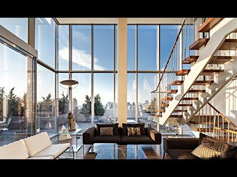 Sky Lofts Glasshouse Penthouse - 145 Hudson Street, New York