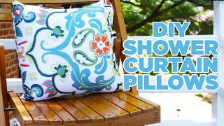 Video Turn A Shower Curtain Into Outdoor Pillows download MP3, 3GP, MP4, WEBM, AVI, FLV Juni 2018