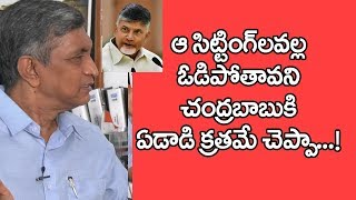 Jayaprakash Narayana Reveals Interesting Things About Chandrababu Defeat