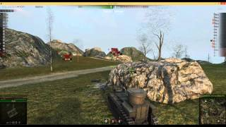 World of tanks - t72, epic battle