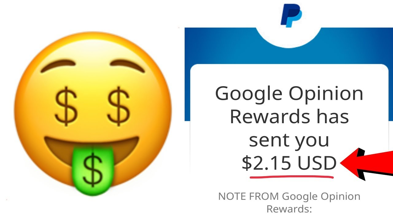 Google Opinion Rewards - How to INSTANTLY make $2 PayPal