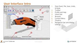 Урок №1 – Знакомство с пользовательским интерфейсом и навигацией Fusion 360